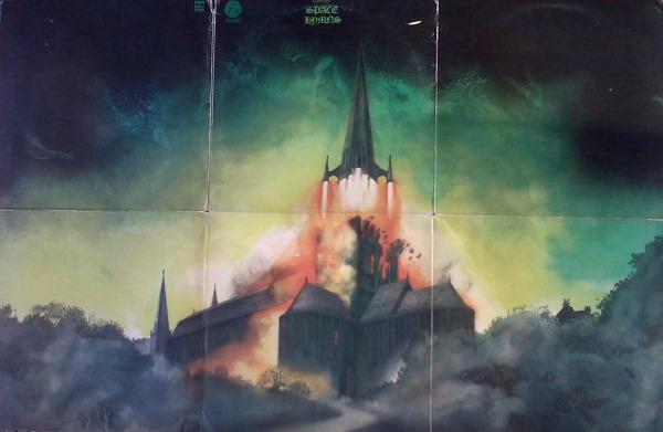 Space Hymns Foldout